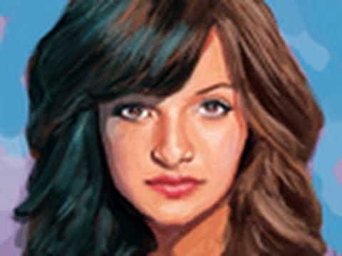 Como dibujar a Brenda Asnicar - Dibujo de Antonella de Patito Feo