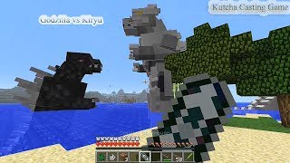 getlinkyoutube.com-Minecraft Mod Godzilla ตอน Godzilla ไฟว์กับ Kiryu