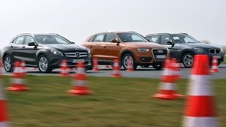 getlinkyoutube.com-Mercedes GLA vs. Audi Q3 vs. BMW X1