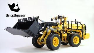 getlinkyoutube.com-Lego Technic 42030 VOLVO L350F Wheel Loader - Lego Speed build