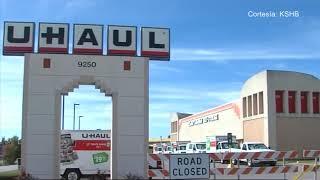La policía de Lenexa, Kansas, encontró restos humanos en una unidad de U-Haul