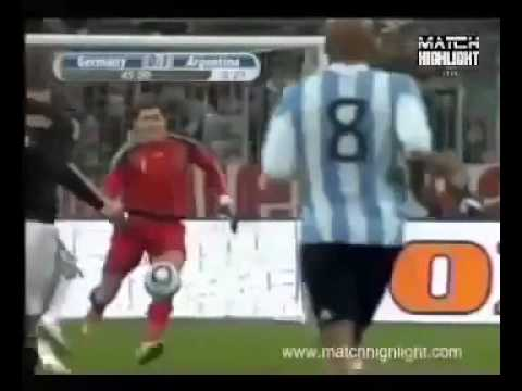 Germany vs Argentina (0-1) All Goals & Highlights [Friendly] - 03.03.10 -pCopZCbdVq0