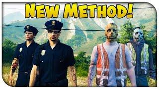 """getlinkyoutube.com-GTA 5 Online - NEW & Easier Way to Get """"Police & Garbage Man"""" Uniform! [GTA V Heist Update]"""