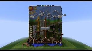 [Minecraft] กิจกรรม ผจญภัยเมือง 2D เซิฟ SayOuiMinecraft