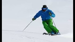 getlinkyoutube.com-ALLTRACKS Ski Training Video - Short Turns Hockey Stop