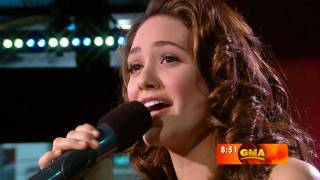 getlinkyoutube.com-[720p] Emmy Rossum - Slow Me Down (GMA 2007)