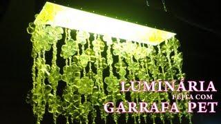 getlinkyoutube.com-Luminária com Garrafa Pet - Passo a passo