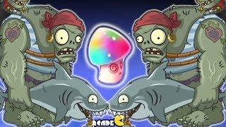 getlinkyoutube.com-Plants Vs Zombies 2 Dark Ages: Hypno-Shroom Pirate Seas Gargantuar