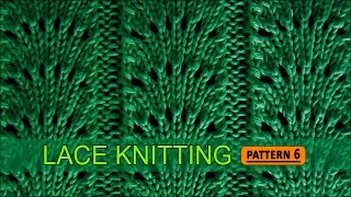 getlinkyoutube.com-Fan Flare Stitch | Lace Knitting Pattern #6