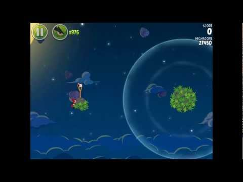 Angry Birds Space Pig Bang 1-5 Space Eagle Walkthrough