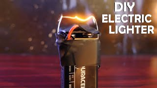 getlinkyoutube.com-How To Make an Electric Lighter! - With a 9 volt, Super Easy!!!