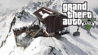 getlinkyoutube.com-GTA V ONLINE | Visite de la base militaire et du mont chiliad sous la neige !