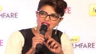 getlinkyoutube.com-Priyanka Chopra gets ANGRY at a Reporter over SHAHRUKH KHAN 59th Idea Filmfare Awards 2013
