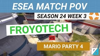 [TF2] ESEA Invite Match POV: FROYOTECH vs mario party 4