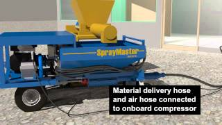 getlinkyoutube.com-SprayMaster | Mortar Pump for Fireproofing, Underlayments, Stucco, EIFS & Grouting