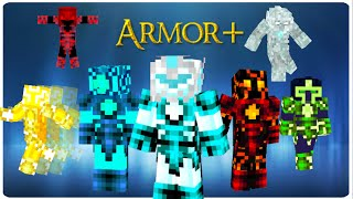 Armor+ in Vanilla Minecraft | ONLY ONE COMMAND BLOCK (1.8 / 1.9)