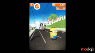 getlinkyoutube.com-Despicable Me: Minion Rush Meena Boss Battle (iPhone/iPad)