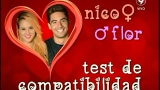 getlinkyoutube.com-Test de compatibilidad entre Nico y Flor (09-02-2015)