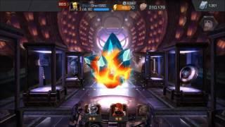 getlinkyoutube.com-Marvel Contest of Champions - 5 Star Crystal!! + Rank up + Versus