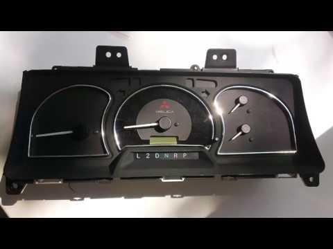 Стайлинг приборов Mitsubishi Delica