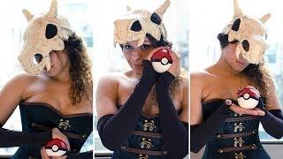 getlinkyoutube.com-Bringing Cubone From Pokemon to Life