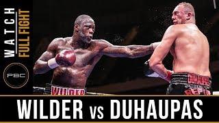 getlinkyoutube.com-Wilder vs Duhaupas FULL FIGHT: Sept. 26, 2015 - PBC on NBC