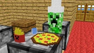 getlinkyoutube.com-Monster School: Cooking - Minecraft Animation