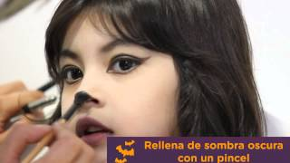 Tutorial: Maquillaje de Gatita para Halloween | Creciendo Juntos | Progress TV