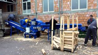 getlinkyoutube.com-Rębak bebnowy (drum wood chipper) 500EB2 REF - Teknamotor