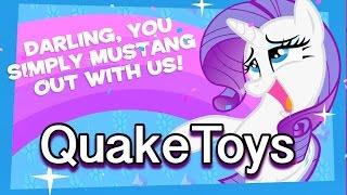 getlinkyoutube.com-My Little Pony Rarity Party Day Friendship Celebration Cutie Mark Magic App Game!