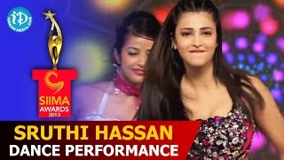 getlinkyoutube.com-Sruthi Hassan Dance Performance | #SIIMA2013 | Telugu