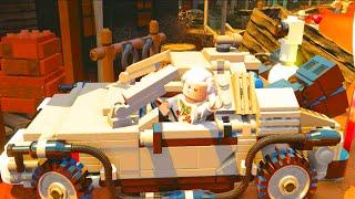 getlinkyoutube.com-LEGO Dimensions Hide Doc Brown's DeLorean