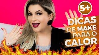 getlinkyoutube.com-5+ DICAS DE MAKE PARA O CALOR POR ALICE SALAZAR