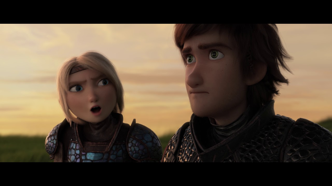 Dream Works How To Train Your Dragon The Hidden World Astrid /& Stormfly #2569