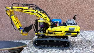 getlinkyoutube.com-Lego Technic 8043 Pneumatic MOD