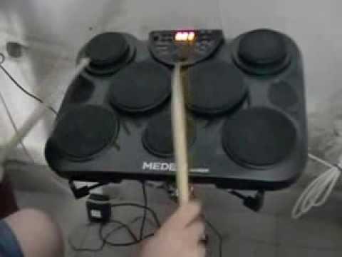 Probando mi Medeli DD305 vía USB-MIDI