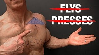 How to Build Your Upper Chest (NO FLYS   NO PRESSES!)