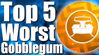 getlinkyoutube.com-TOP 5 WORST DLC GOBBLEGUMS - Call of Duty: Black Ops 3 Zombies