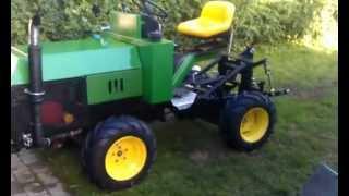 getlinkyoutube.com-homemade 4wd articulating garden/lawn tractor