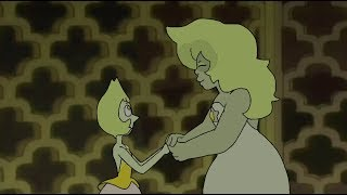 A single pale rose Yellow Diamond version AU | Steven Universe fan animation | Rose Quartz Fenzy width=