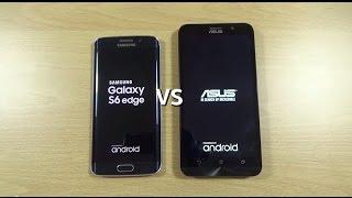 getlinkyoutube.com-Asus Zenfone 2 ZE551ML VS Galaxy S6 Edge - Speed Test!