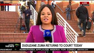 Duduzane Zuma returns to court, Chriselda Lewis reports width=