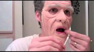 getlinkyoutube.com-Old Fart foam latex prosthetic application