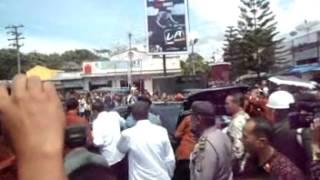 getlinkyoutube.com-Presiden RI Bapak Jokowi di Kota Laguboti Toba Samosir
