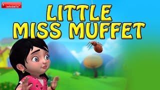 Little Miss Muffet   Nursery Rhymes for Children   Infobells