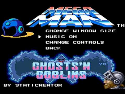 ALCH VERSUS| Mega Man VS Ghosts & Goblins