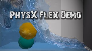 getlinkyoutube.com-PHYSX FLEX DEMO - Incredible Physics Simulation