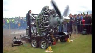 Bristol Hercules demonstration