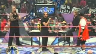 getlinkyoutube.com-John Cena Raw Debut (Raps On Christian & Tyson Tomko On The Highlight Reel)