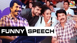 getlinkyoutube.com-Mammootty Funny Speech At I AM Launch | Adil Ibrahim, Pearle Maaney